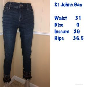 St. John's Bay, Dark Washed Jeans